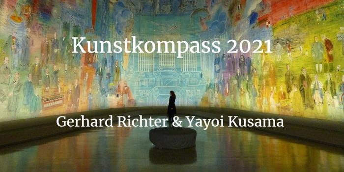 Kunstkompass 2021 - Gerhard Richter und Yayoi Kusama im Ranking vorn