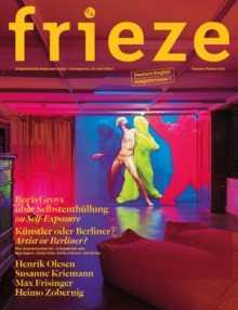Kunstmagazin Frieze jetzt auf Deutsch