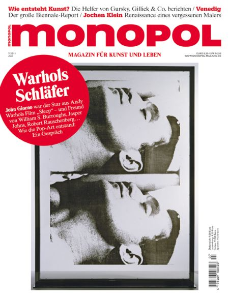 Monopol und Art Magazin - die Juli Ausgaben sind da