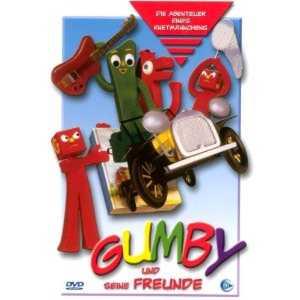 Art Clokey zum Geburtstag ein Gumby-Doodle