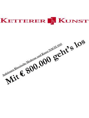 moderne Kunst - Ketterer Kunst versteigert Meisterwerk von Max Pechstein