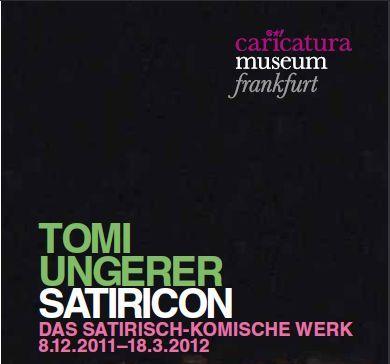 Tomi Ungerer Ausstellung in Frankfurt
