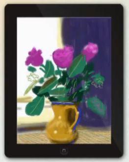 David Hockney Ausstellung in London - Landschaftsbilder