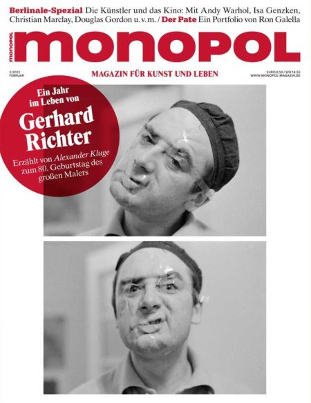 Monopol Februar Ausgabe mit Gerhard Richter Spezial