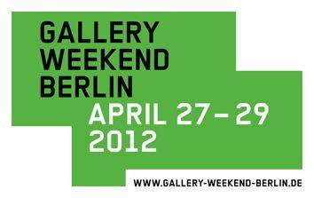 Kunst: Gallery Weekend Berlin mit 51 Galerien am Start