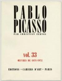 Picasso Werkverzeichnis von Zervos wieder neu aufgelegt