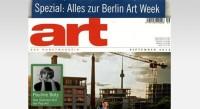 Kunstmagazin: neue Art September Ausgabe im Check