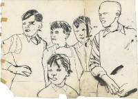 Zeichnungen von Andy Warhol der 1950er Jahre in München