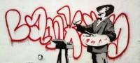 Street Art Künstler Banksy verkaufte Originale am Straßenrand