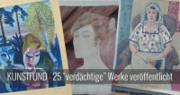Gurlitt Kunstfund - erste 25 Kunstwerke jetzt in Lost Art Datenbank veröffentlicht