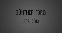 K�nstler G�nther F�rg mit 61 Jahren gestorben