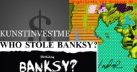 Banksy Auktion, Warhol Entdeckung und Kunstfonds sammeln Milliarden ein
