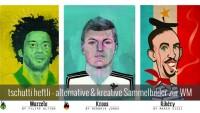 WM Brasilien - kreative Sticker und Sammelbilder im tschutti heftli