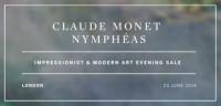 Monets Seerosen für 54 Millionen Dollar versteigert