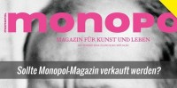 Kunstmagazin Monopol sollte an Springer Verlag verkauft werden