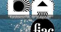 Keine FIAC in LA und wer kaufte Giacometti