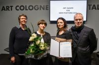 Sabrina Fritsch erhält ART COLOGNE Award for NEW POSITIONS