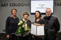 Sabrina Fritsch erhält ART COLOGNE Award for NEW POSITIONS