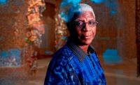 Biennale: Goldener L�we f�r El Anatsui
