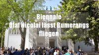 Biennale - Wie Du für 8 Euro Kunst von Olaf Nicolai kaufen kannst