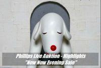 "Phillips Auktion - 9 Highlights der ""New Now"" Live-Aktion"