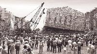 Documenta Kunstwerk - riesige Skulptur aus 100.000 Bücher in Kassel geplant