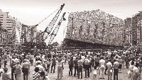 Documenta Kunstwerk - riesige Skulptur aus 100.000 B�cher in Kassel geplant