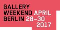 Künstler + Galerien für das Gallery Weekend 2017 stehen fest