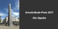 Documenta Künstler Olu Oguibe erhält Arnold-Bode-Preis 2017
