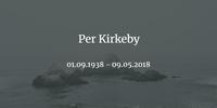 Dänischer Maler Per Kirkeby im Alter von 79 Jahren gestorben