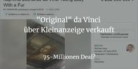 """Wie man einen """"Original"""" da Vinci für 72 Mio. über eine Kleinanzeige verkauft"""