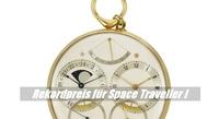 teuerste Uhr - Space Traveller I für 4,5 Millionen Dollar versteigert