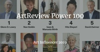 ArtReview Power 100 Ranking - Art Influencer 2019