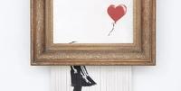 Banksy geschreddertes Werk erzielt Rekordpreis von 25,3 Millionen Dollar