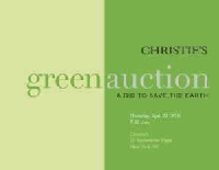 Earth Day - Auktionshaus Christies startet seine Green Auction