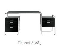 Bauhaus Thonet Schreibtisch S 285 feiert Jubil�um