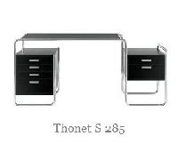Thonet Schreibtisch S 285 - Stahlrohrmöbel & Bauhaus Klassiker