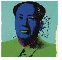 Warhol und das zerschossene Mao Porträt