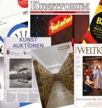 Kunstzeitschriften kostenlos testen - 7 Kunstmagazin-Angebote