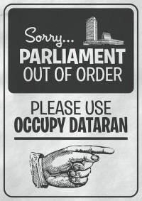 Malbuch zum Pfefferspray-Cop und Occupy Poster kostenlos als Download