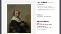 Frans Hals Gem�lde aus Liz Taylor Nachlass f�r Millionen versteigert