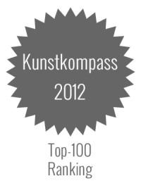 Kunstkompass 2012 - Top Ranking für deutsche Künstler