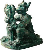 Skulptur Jörg Immendorff Alter Ego - Das andere Ic ...