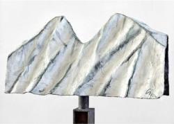 Skulptur Emil Cimiotti Bergwand ...