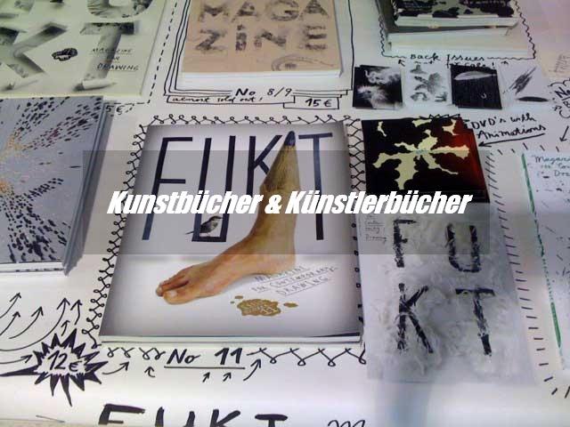 Kunstbücher & Künstlerbücher