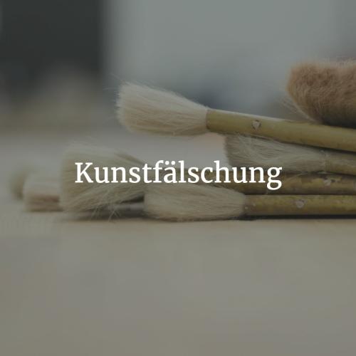 Kunstfälschung ► Erkennen, Defintion & News