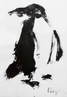 Zeichnung Thomas Putze Pinguin ...